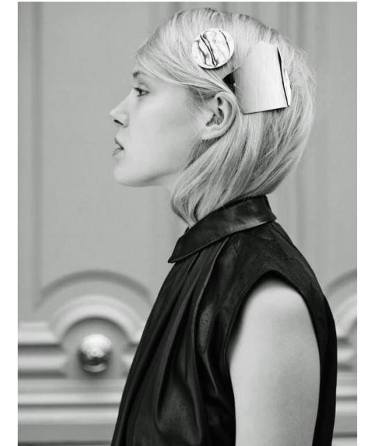Barrette hair clip cheveux géométrique pour une coiffure spéciale