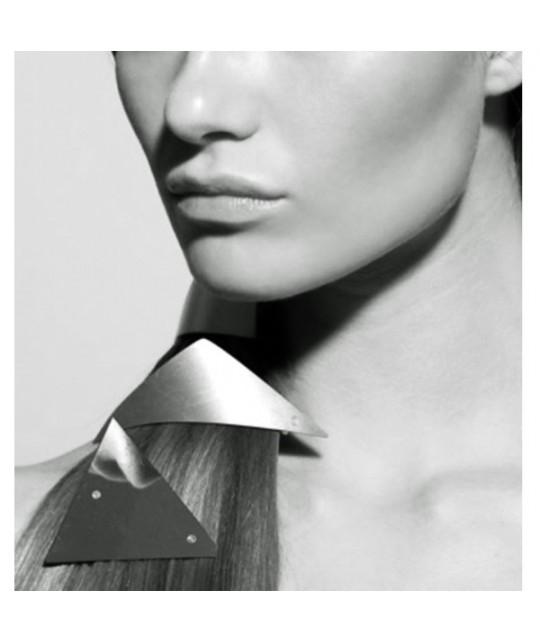 Clip cheveux pour coiffure tendance en argent et or