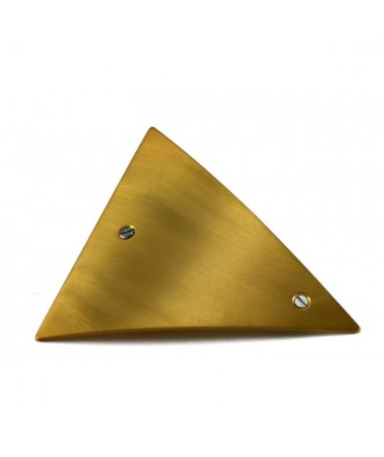Hair clip triangle en or