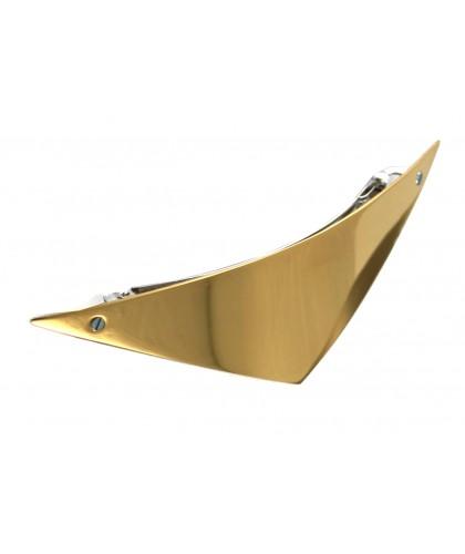 Barrette triangle en or pour des coiffures 2021