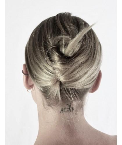 épingle à cheveux, sobre te élégante