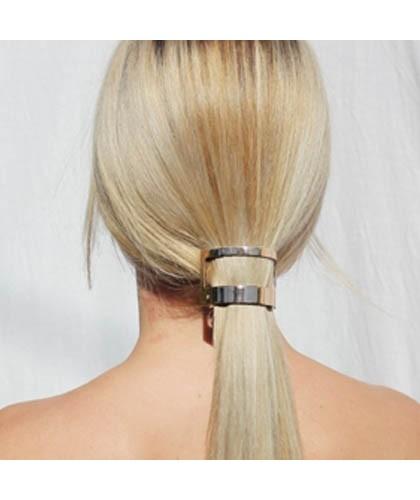 nouvelle barrette cheveux pour queue de cheval