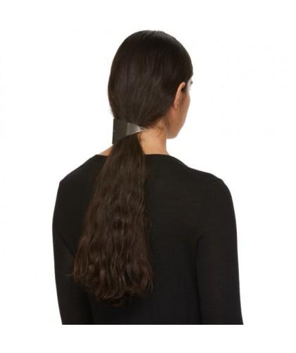 Barrette queue de cheval en triangle pour cheveux frisés