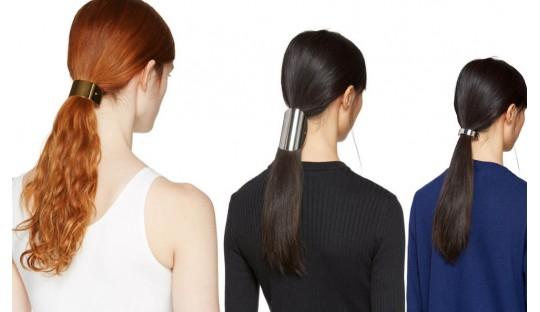 Barrette queue de cheval pour cheveux fins et cheveux epais