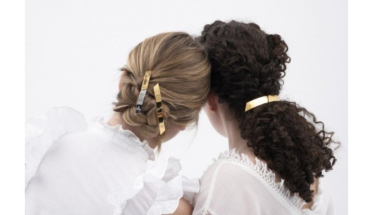 Hair accessories, design and modern